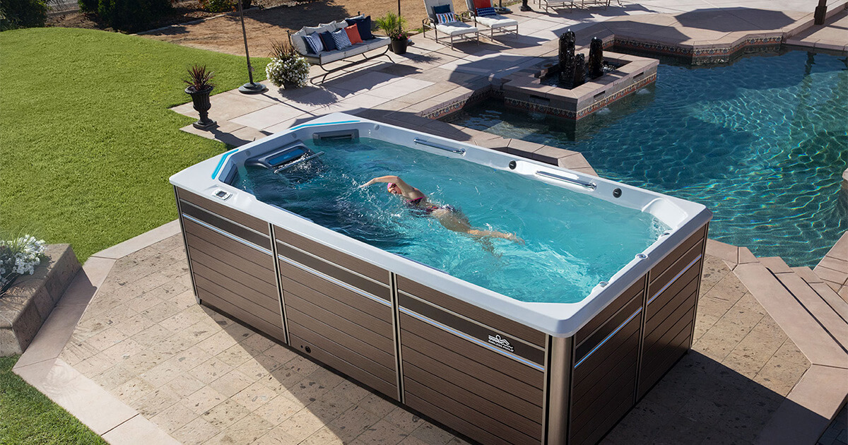 Swim Spa | E550 Fitness Pool System | Hot Tub Pool